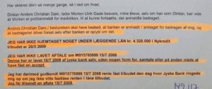 Må vi spørger nu advokat Morte Ulrik Gade nægter kunde aktindsigt i jyske bank