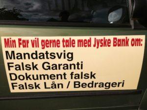 Jyske bank har siden 31 maj 2016 nægtet at svare eller tale med snydt kunde i jyske bank, :-) Vi ønsker hjælp til at råbe jyske bank op, :-) Klik og se eksempler på ja nej spørgsmål til jyske Banks leder :-) Hvorfor svare jyske bank ikke kundes ønske om en offenlig debat på jyskebanktv :-) Tør banken eller deres advokater i Lund Elmer Sandager ikke svare :-) På ja nej spørgsmål som disse
